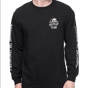 Other - SKETCHY TANK LONG SLEEVE DISTURBED SHIRT